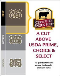 Independent USDA graders inspect cattle and label them according to ... U Grade Cattle
