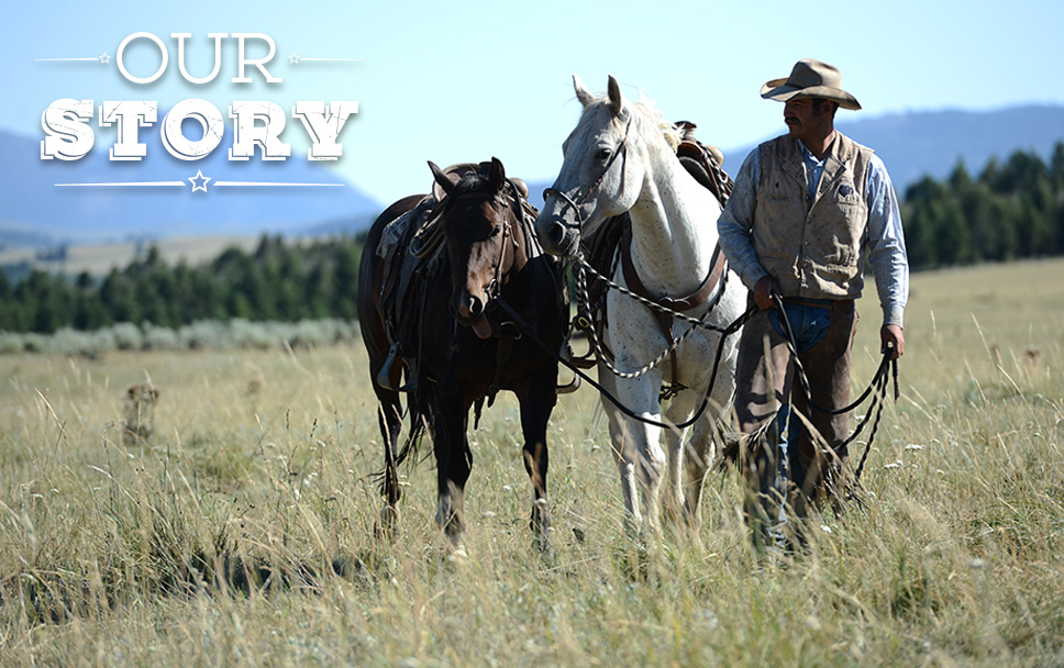 Our Story country side rancher with horses