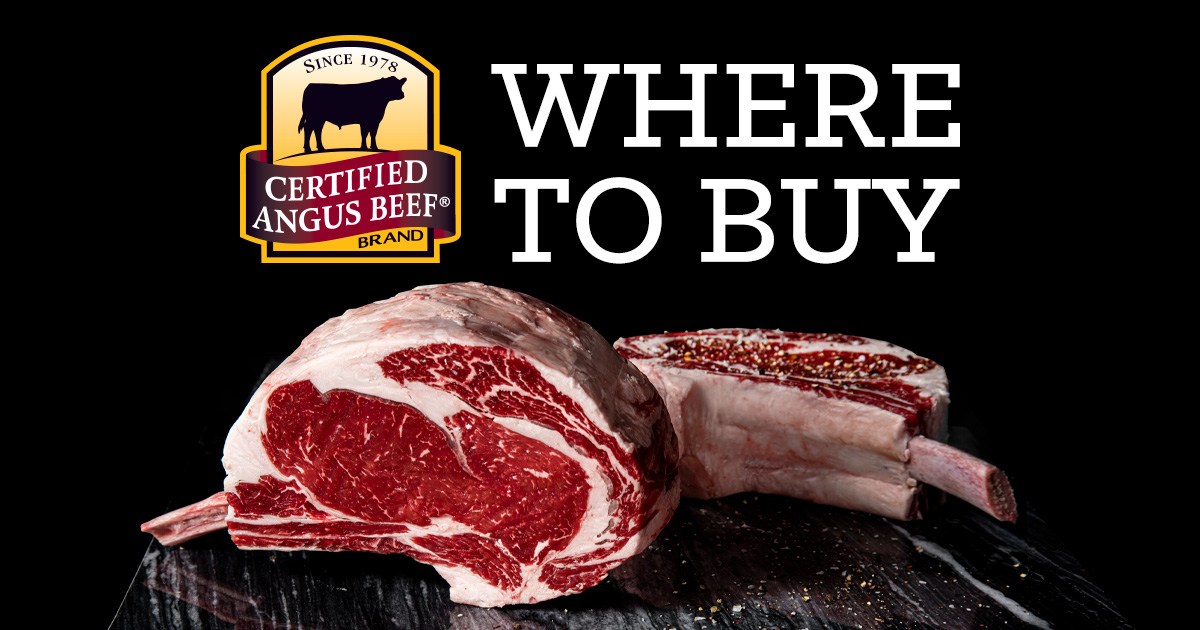 Where to buy the Certified Angus Beef® brand
