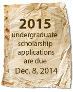 2014 applications due Dec 06, 2013