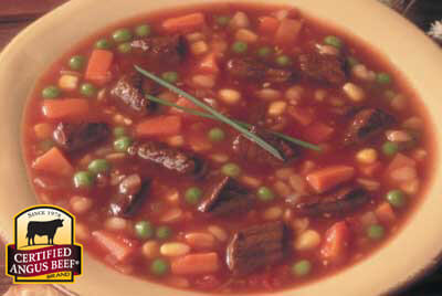 Easy Beef Soup recipe provided by the Certified Angus Beef® brand.