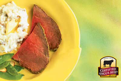 Peppery Dijon Rosemary Roast recipe provided by the Certified Angus Beef® brand.