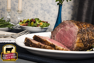 Robust Rub Rib Roast recipe provided by the Certified Angus Beef® brand.
