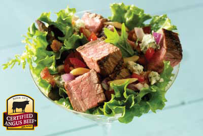 Steak Salad Martini recipe provided by the Certified Angus Beef® brand.