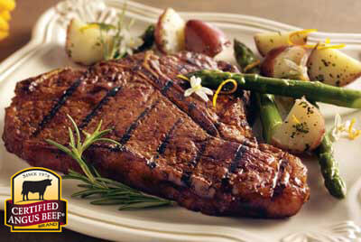 Perfect Backyard Porterhouse Steak Meal recipe provided by the Certified Angus Beef® brand.