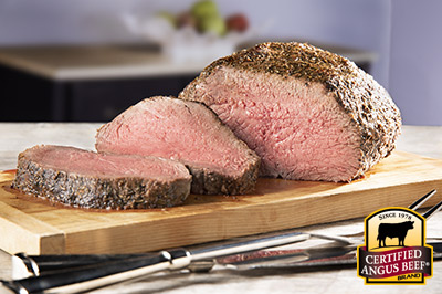 Reverse Sear Spiced Sirloin Roast  recipe provided by the Certified Angus Beef® brand.