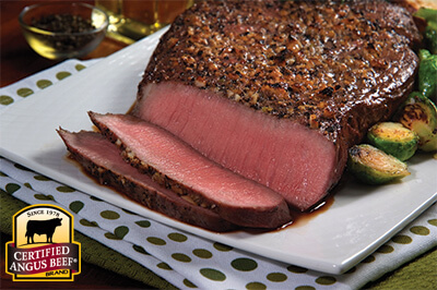 Top Round Roast with Lemon Garlic Marinade recipe provided by the Certified Angus Beef® brand.