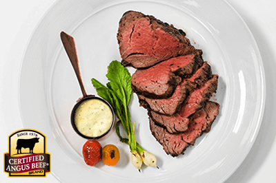 Morten's Tenderloin Châteaubriand with Béarnaise Sauce recipe provided by the Certified Angus Beef® brand.