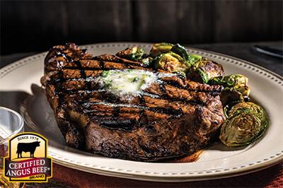 Ribeye Steak Certified Angus Beef 174 Brand