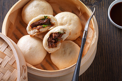 Bao Beef Buns recipe provided by the Certified Angus Beef® brand.