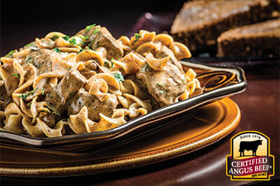 Slow Cooker Stroganoff recipe provided by the Certified Angus Beef® brand.
