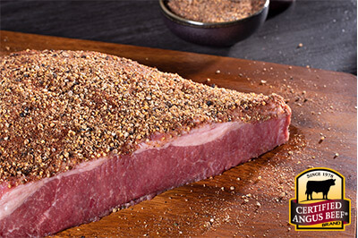 Home Made Pastrami from Corned Beef  recipe provided by the Certified Angus Beef® brand.