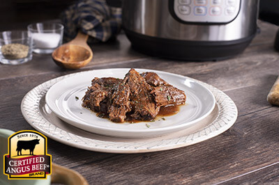 Instant Pot Classic Pot Roast recipe provided by the Certified Angus Beef® brand.