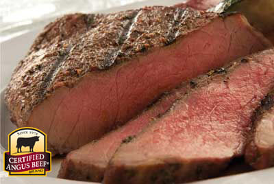 Lemon London Broil with Roasted Corn recipe provided by the Certified Angus Beef® brand.