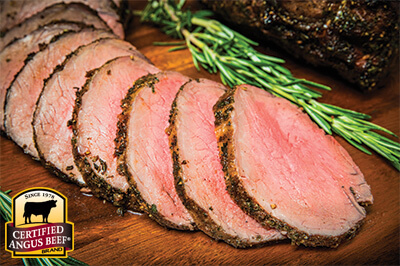 Cider Marinated Top Sirloin Roast recipe provided by the Certified Angus Beef® brand.