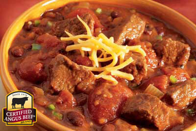 Beer Chili  recipe provided by the Certified Angus Beef® brand.