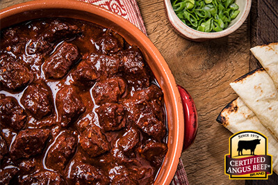 Slow Cooker Beef Chili Colorado recipe provided by the Certified Angus Beef® brand.