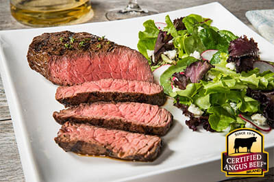 Fresh Herb Marinated Steak recipe provided by the Certified Angus Beef® brand.