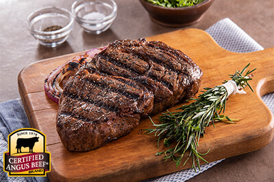 Herb-Rubbed Chuck Eye Steaks recipe provided by the Certified Angus Beef® brand.