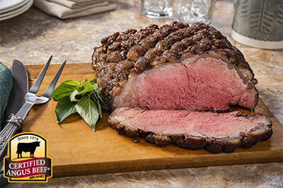Reverse Sear Caramelized Crusted Strip Loin recipe provided by the Certified Angus Beef® brand.