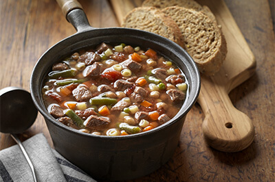 Lazy Day Beef & Vegetable Soup recipe provided by the Certified Angus Beef® brand.