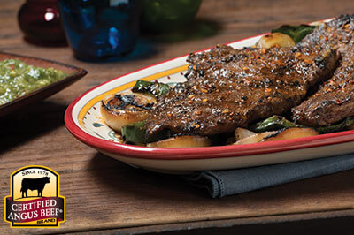 Skirt Steak with Arrachera Rub recipe provided by the Certified Angus Beef® brand.