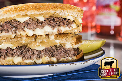 Classic Patty Melt recipe provided by the Certified Angus Beef® brand.