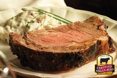Boneless Rib Roast recipe provided by the Certified Angus Beef® brand.