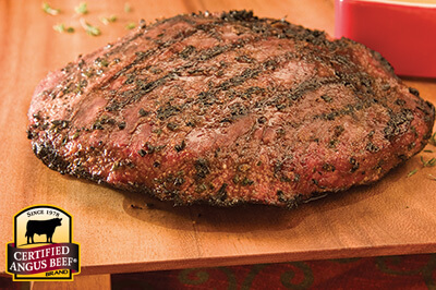 Cumin and Coriander Rubbed Flank Steak recipe provided by the Certified Angus Beef® brand.