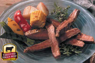 Dijon Flank Steak recipe provided by the Certified Angus Beef® brand.