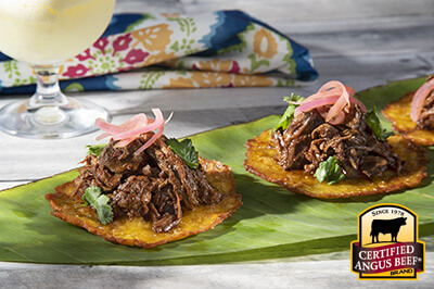 Slow Cooker Barbacoa recipe provided by the Certified Angus Beef® brand.