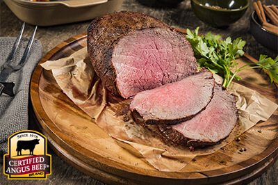 Moroccan Spiced Sirloin Roast recipe provided by the Certified Angus Beef® brand.