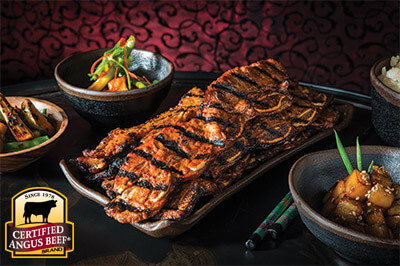 Grilled Korean-style Short Ribs recipe provided by the Certified Angus Beef® brand.