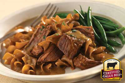 Bottom Round Pot Roast with Mushroom Onion Sauce recipe provided by the Certified Angus Beef® brand.