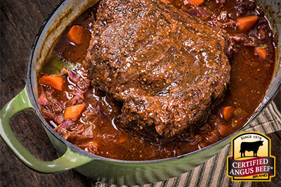German Pot Roast recipe provided by the Certified Angus Beef® brand.