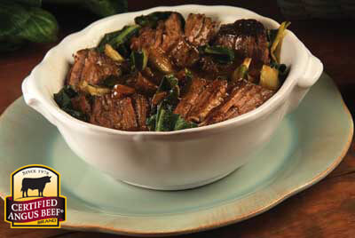 Asian Slow Cooker Pot Roast recipe provided by the Certified Angus Beef® brand.