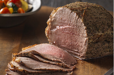 Quick Italian Beef Roast & Vegetables recipe provided by the Certified Angus Beef® brand.