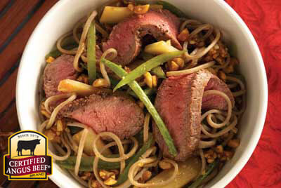 Beijing Noodle Bowl recipe provided by the Certified Angus Beef® brand.