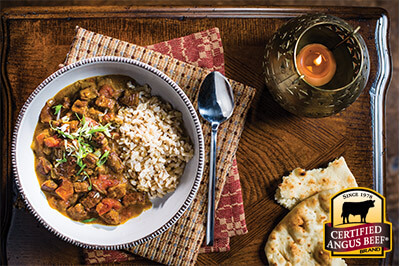 Slow Cooker Beef Tikka Masala recipe provided by the Certified Angus Beef® brand.