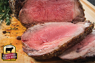 Prime Rib Roast with Vegetable Puree recipe provided by the Certified Angus Beef® brand.