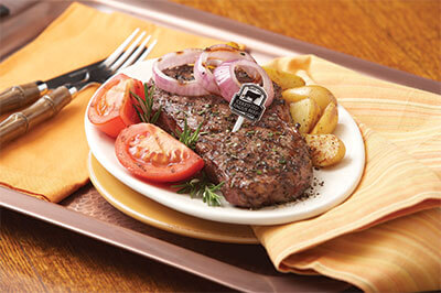 Mediterranean Grilled New York Strip Steak recipe provided by the Certified Angus Beef® brand.