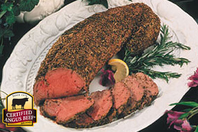 Herb Tenderloin Roast recipe provided by the Certified Angus Beef® brand.