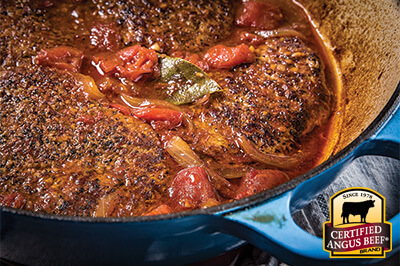 Swiss Steak recipe provided by the Certified Angus Beef® brand.