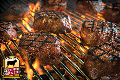 Grilled Filet with Cumin & Coriander recipe provided by the Certified Angus Beef® brand.