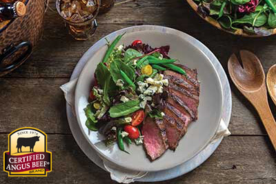 Classic Steakhouse Salad with Blue Cheese recipe provided by the Certified Angus Beef® brand.