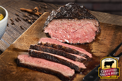 Cast Iron Spiced Coulotte Roast recipe provided by the Certified Angus Beef® brand.