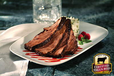 Short Ribs with Raspberry Barbecue Sauce recipe provided by the Certified Angus Beef® brand.