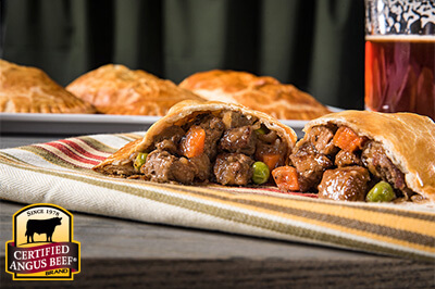Steak and Ale Hand Pies recipe provided by the Certified Angus Beef® brand.