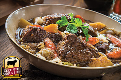Irish Beef and Brew Stew recipe provided by the Certified Angus Beef® brand.