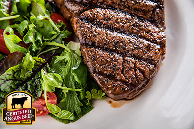 Chuck Eye Steaks with Classic Steak Rub recipe provided by the Certified Angus Beef® brand.